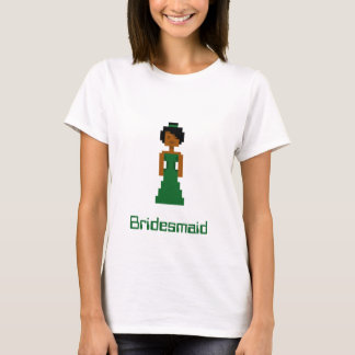 Pixel-Brautjungfer 2 T-Shirt