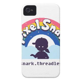 PixelSnark Logo iPhone 4 Cover