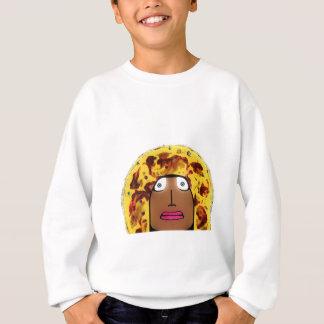 Pizza-Gesicht Sweatshirt