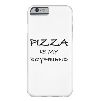 Pizza ist mein Freund Barely There iPhone 6 Hülle