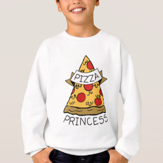 Pizza-Prinzessin Sweatshirt