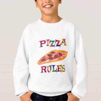 Pizza-Regeln Sweatshirt