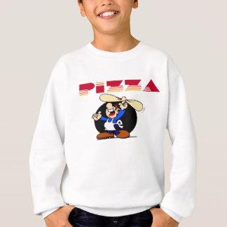 Pizza und Bäcker Sweatshirt