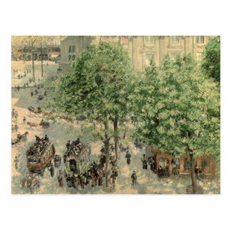 Place du Theater-Francais, Frühling, 1898 Postkarte