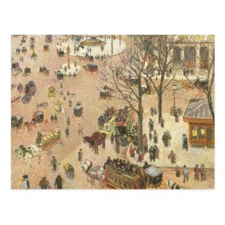 Place du Theatre Francais, 1898 Postkarte
