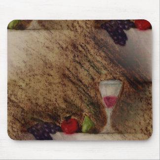 Plaisirs trägt mehrfache Produkte Früchte Mousepad