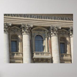 Plakat--Balcony Papstes Poster