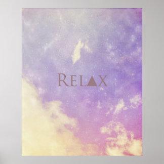 Plakat…. Entspannen Sie sich Poster