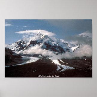 Plakat/Hayes-Gletscher Poster