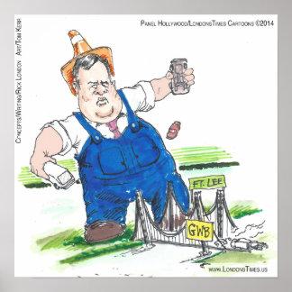 Plakat König-Christie Funny Political Cartoon