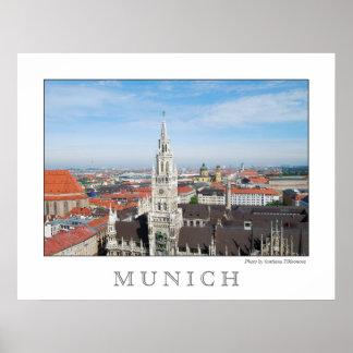 Plakat Münchens, Deutschland