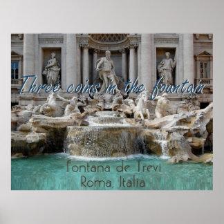 PLAKAT ROMS Italien Druck
