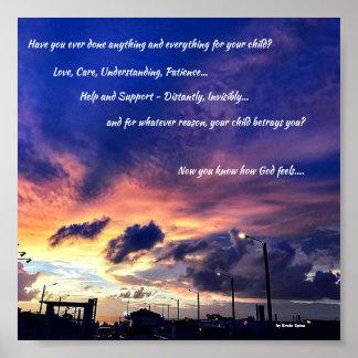 Plakat - Sie, Ihr Kind und Gott