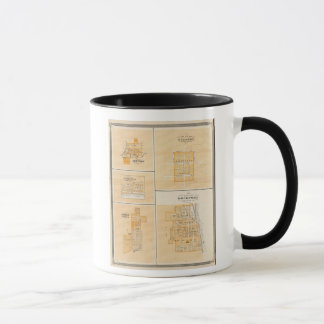 Plan von Rockport, Spencer Co mit Everton Tasse