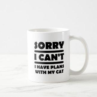 Pläne mit meiner Katzen-lustigen Tasse