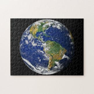 Planeten-Erde Puzzle