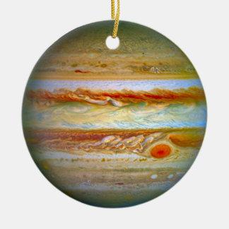 Planeten-Jupiter-Verzierung Rundes Keramik Ornament
