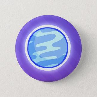 Planeten-Knopf Runder Button 5,1 Cm
