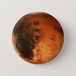 PLANETEN-MARS (Solarsystem) ~ Runder Button 5,1 Cm