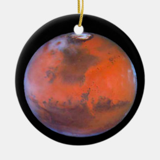Planeten-Mars-Verzierung Rundes Keramik Ornament
