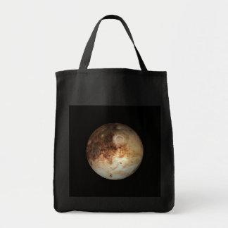 PLANETEN-PLUTO natürliches (Sonnensystem) ~ Einkaufstasche