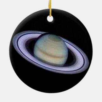 Planeten-Saturn-Verzierung Rundes Keramik Ornament