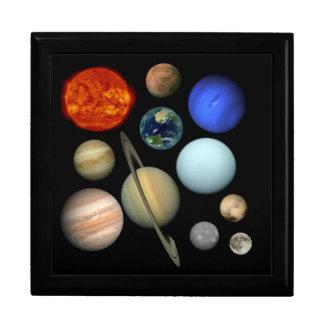 Planeten System Geschenkbox