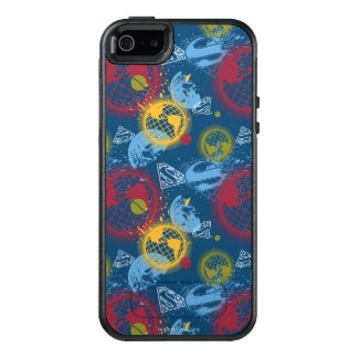 Planeten und Logo-Muster OtterBox iPhone 5/5s/SE Hülle