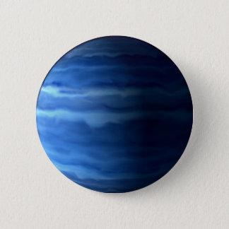 PLANETEN-URANUS v.2 (Sonnensystem) ~ Runder Button 5,7 Cm