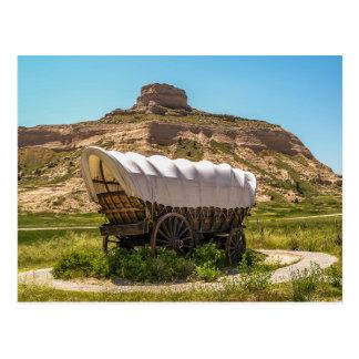 Planwagen am Scotts Täuschungs-nationalen Monument Postkarte