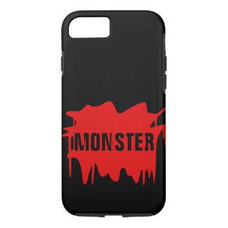 Platsches Halloween-Blut - ändern Sie Text! iPhone 8/7 Hülle