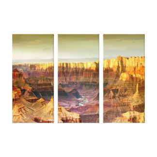 Platten-Leinwand des Grand Canyonpanoramas 3 Leinwanddruck