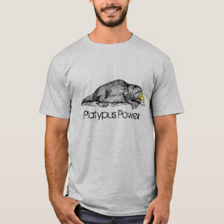 Platypus Poweraustralische T-Shirt