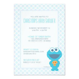 Plätzchen-Monster-Babyparty laden ein 12,7 X 17,8 Cm Einladungskarte