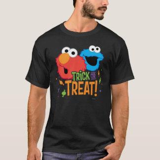 Plätzchen Monster und Elmo - Trick oder Leckerei T-Shirt