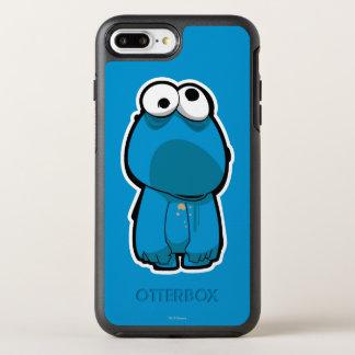 Plätzchen-Monster-Zombie OtterBox Symmetry iPhone 8 Plus/7 Plus Hülle