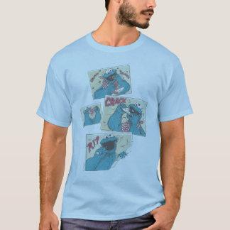 Plätzchen MonsterVintage Comic täfelt 2 T-Shirt