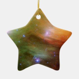 Pleiades Sterne in Infrarot-SSC2007 07A Keramik Ornament