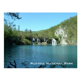 Plitvice Nationalpark Postkarte