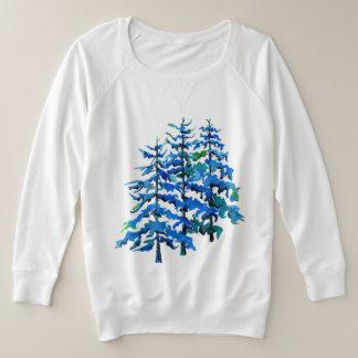 Plusgrößen-Schweiss-Shirt Große Größe Sweatshirt