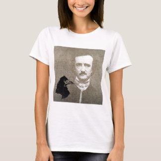 Poe und die Raben-Schmutz-Digital-Kunst T-Shirt