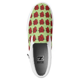 Poinsettia Slip-On Sneaker