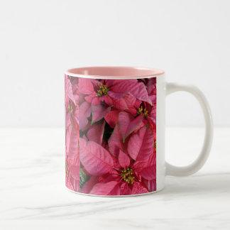 Poinsettia Zweifarbige Tasse