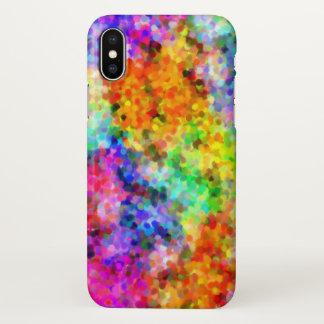 Pointillism Chakra iPhone X Hülle