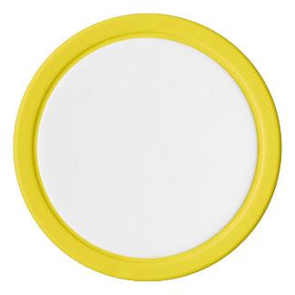 Poker-Chips mit gelbem festem Rand Pokerchips