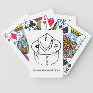 Poker-Gesichts-ungeschicktes Chamäleon-Spielkarten Pokerkarten