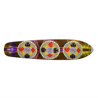 POKER-KÖNIG Symbole: Überkomprimiertes Überschall Skateboarddecks