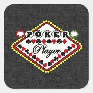 Poker-Spieler Sticker