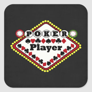 Poker-Spieler Stickers