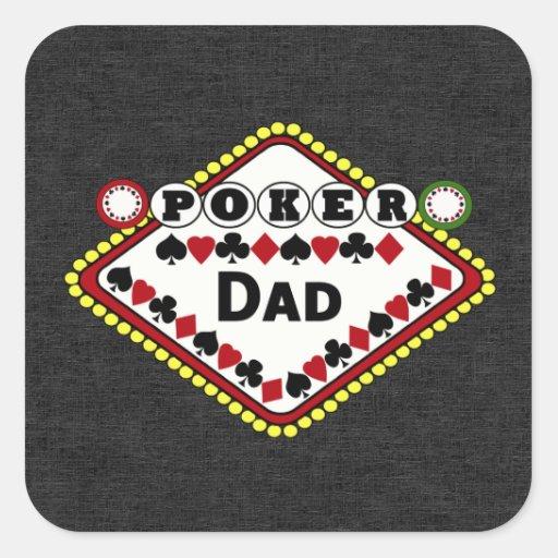 Poker-Vati Quadratsticker